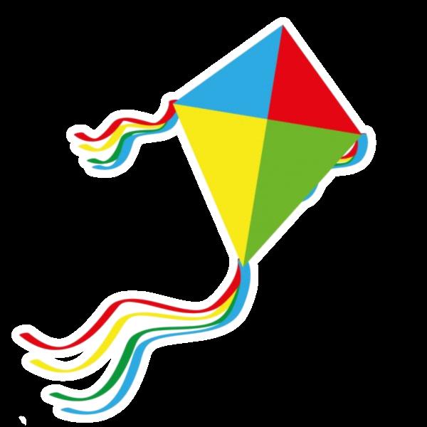 A playful kite