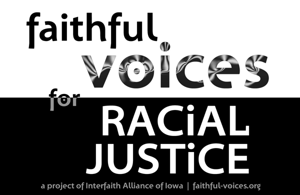 Logo for Faithful Voices for Racial Justice group