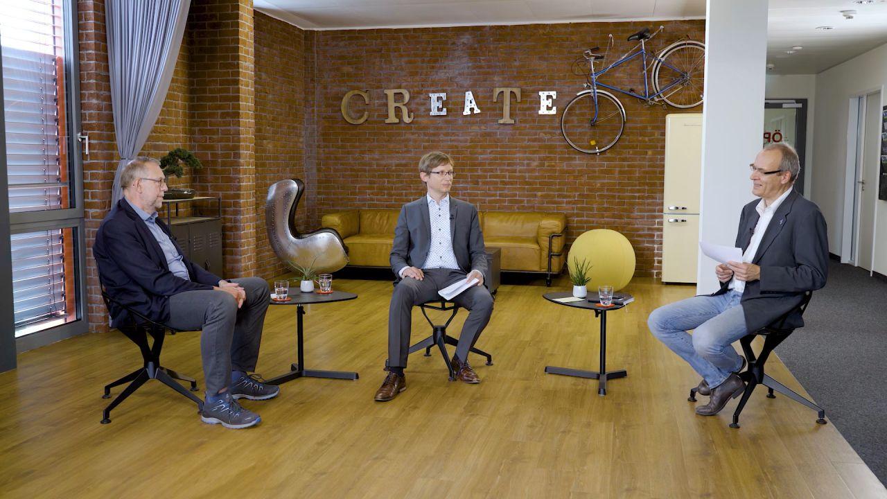 Screenshot aus dem Video-Interview