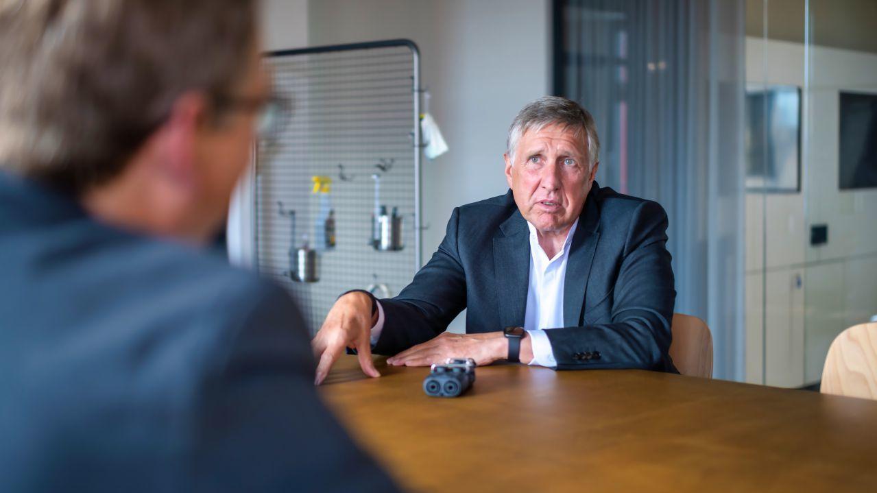 Luxemburgs Vizepremier- und Verkehrsminister François Bausch