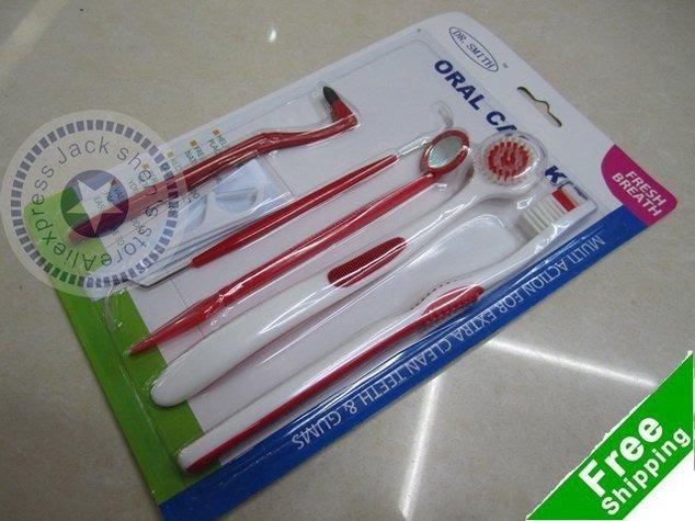 Oral-care-kit-tooth-brush-dental-toothpick-oral-hygiene-kit-dental-floss-retail-interdental-brush-dentail