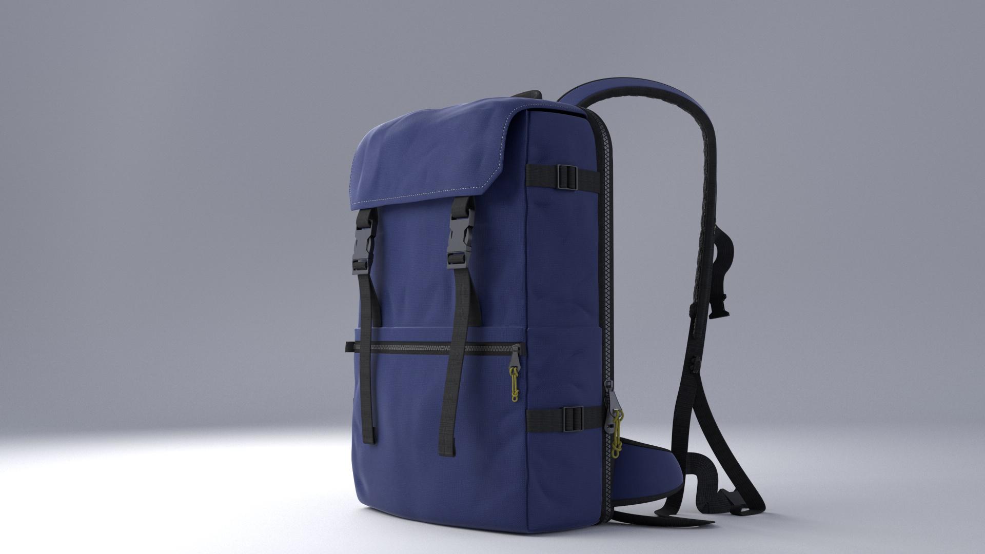 Modélisation 3D Scale Bag
