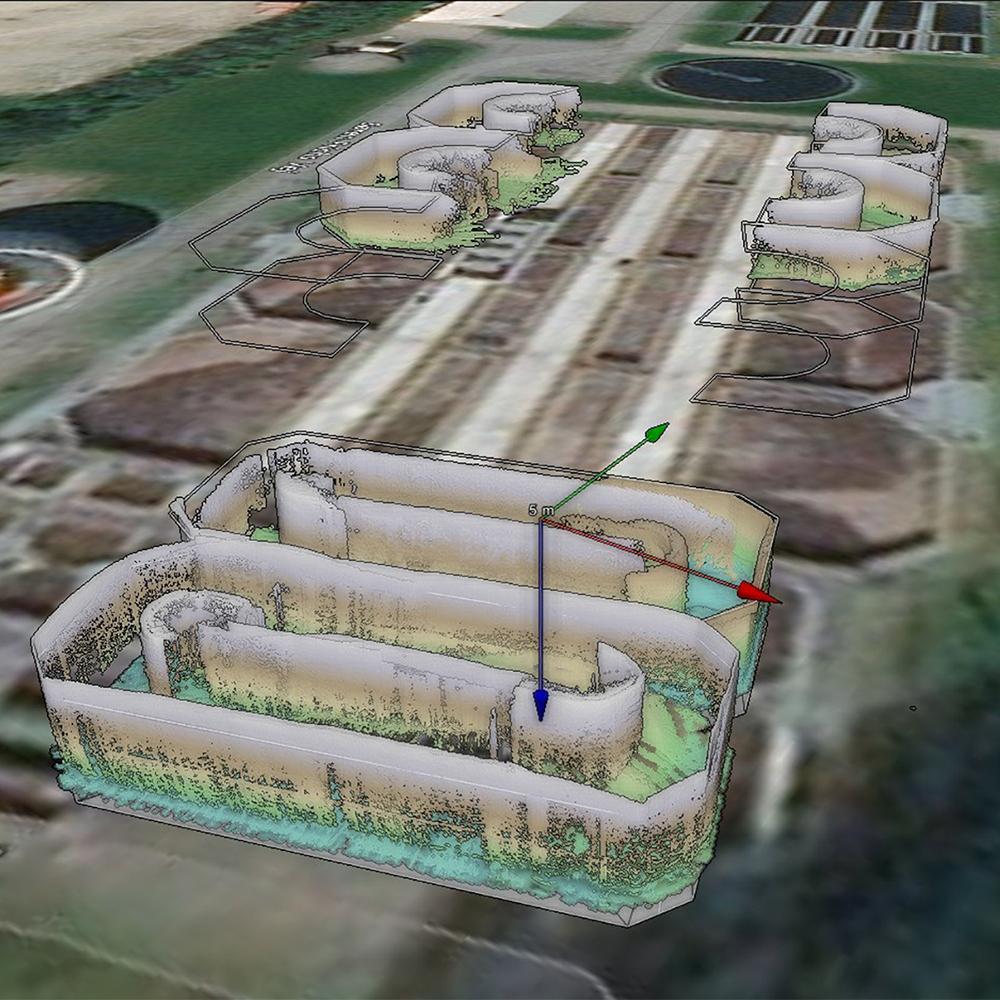 3D-mode af renseanlæg i NaviModel