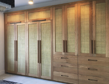 Custom fitted wardrobes made to measure