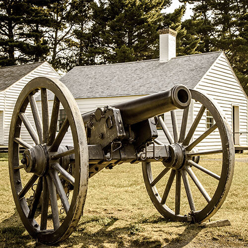 Fort Wilkins State Historical Park Cannon
