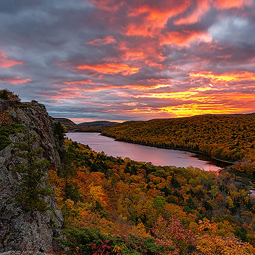 Porcupine Mountains Copper Country