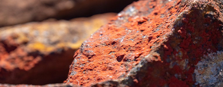 Copper Ore From Rock