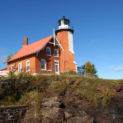 Eagle Harbor Lighthouse Copper Country