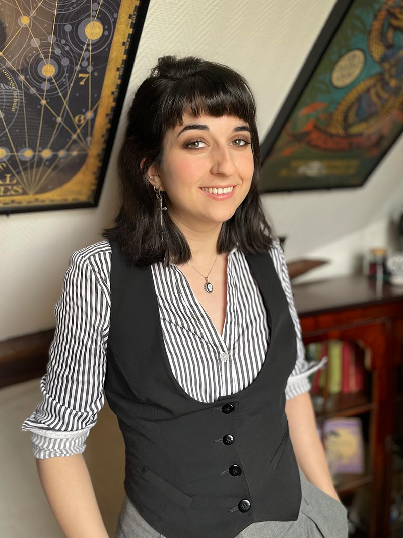 Portrait de Laurie, graphiste de Zompa Design