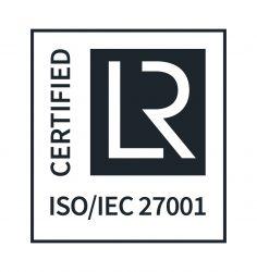 ISO certificering logo voor ISO 27001