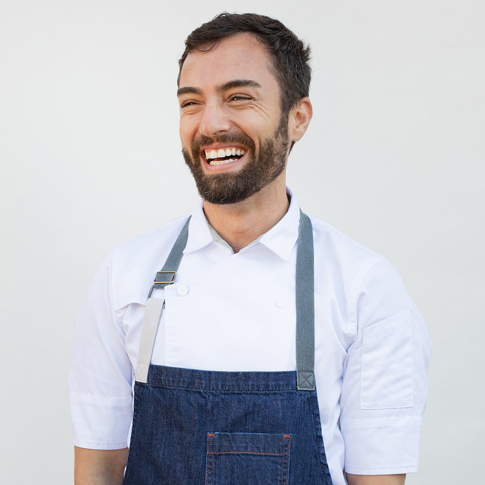 Hailing from Turkey, Ali has years of experience as a celebrity private chef and a vast roster of high-profile clients across LA. He's renowned for his creative dinner parties and events (a recent highlight: a clam-digging expedition and subsequent feast on the beach), as well as for his popular homemade babka and baklava.
