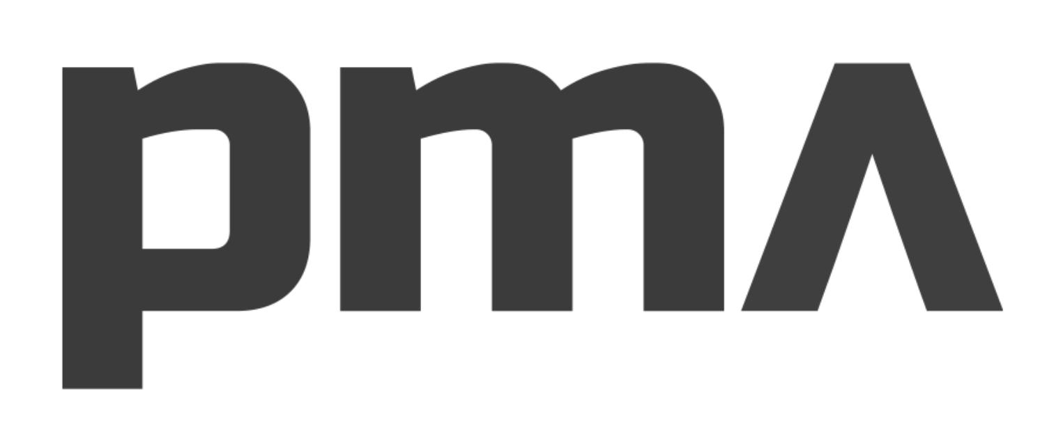 PMA logo black