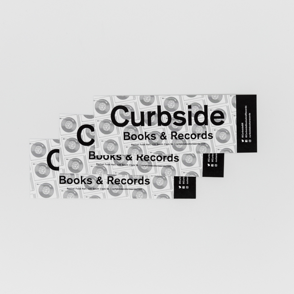 """Image of a bookmark for """"Curbside Books & Records"""" at Revival Food Hall."""