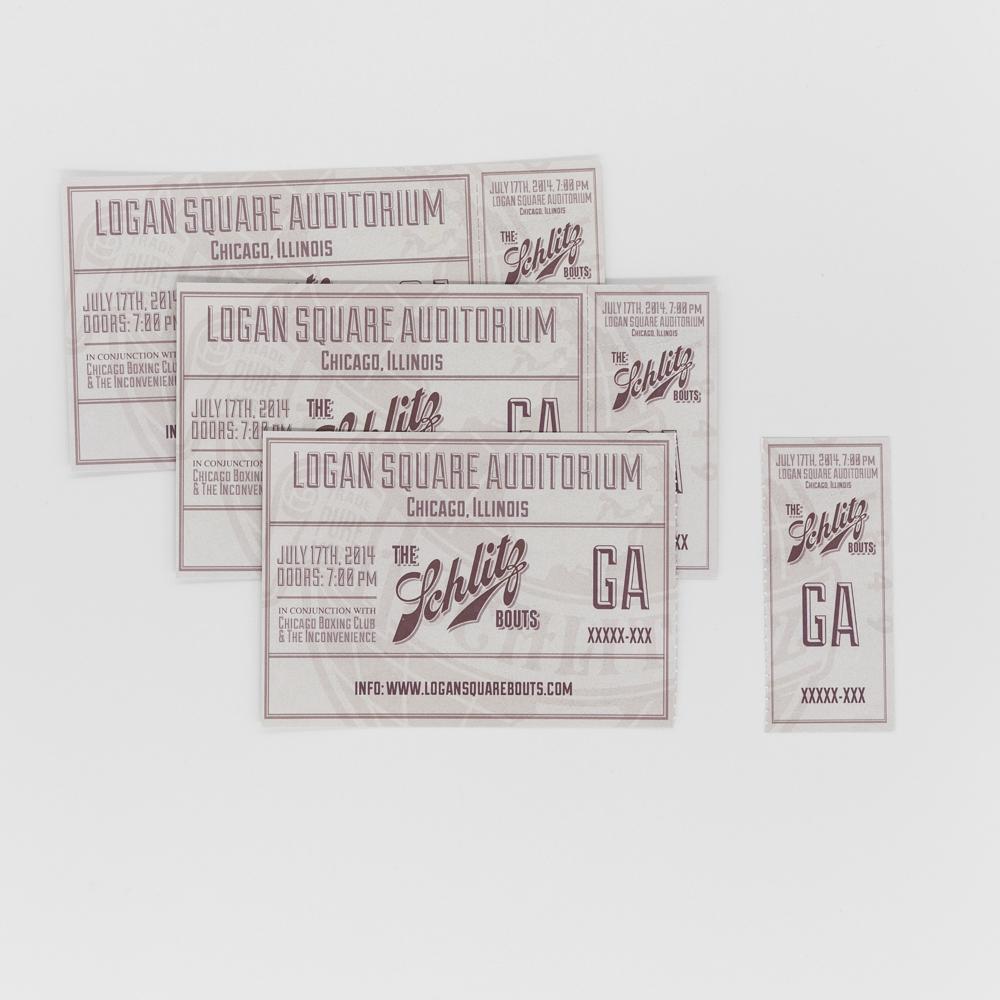 Tickets for logan square auditorium.