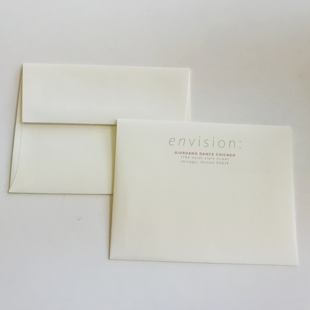 """Image of envelope with """"Envision"""" text."""
