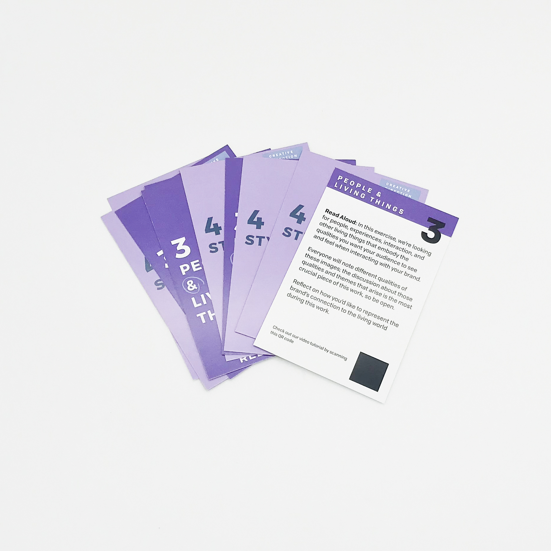 Custom corporate ice breaker playing cards