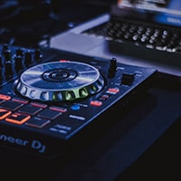 DJ Equipment representing the DJ services package