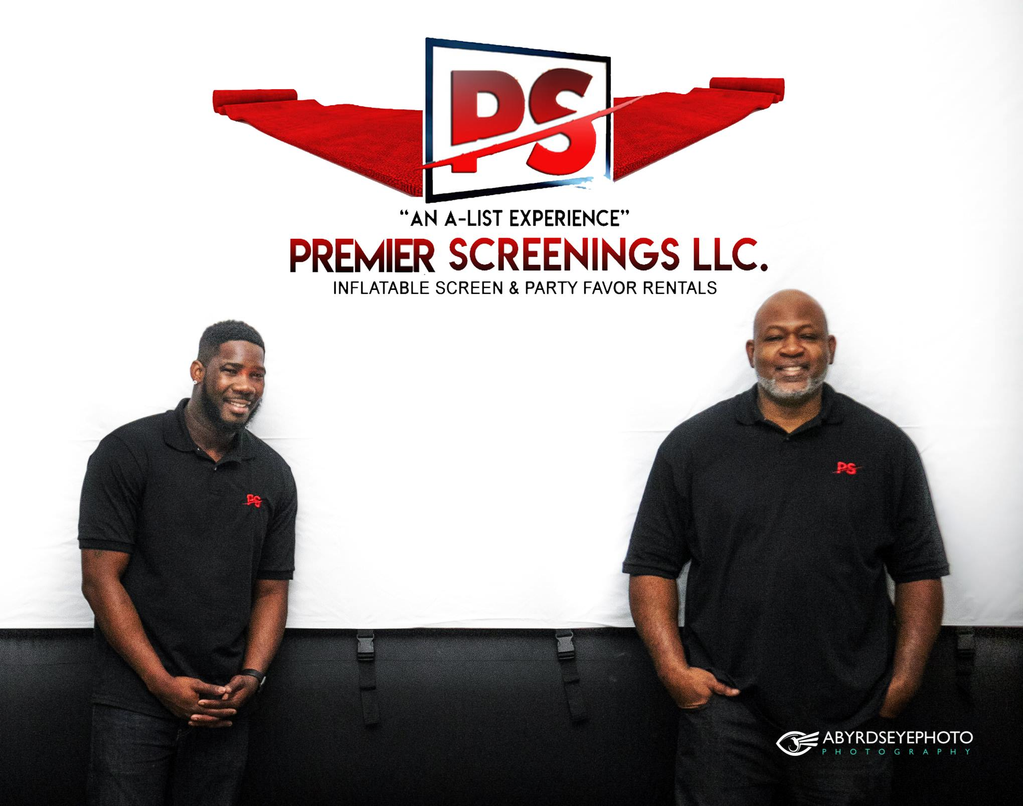 The two owners of Premier Screenings LLC. Tracy and Moni.