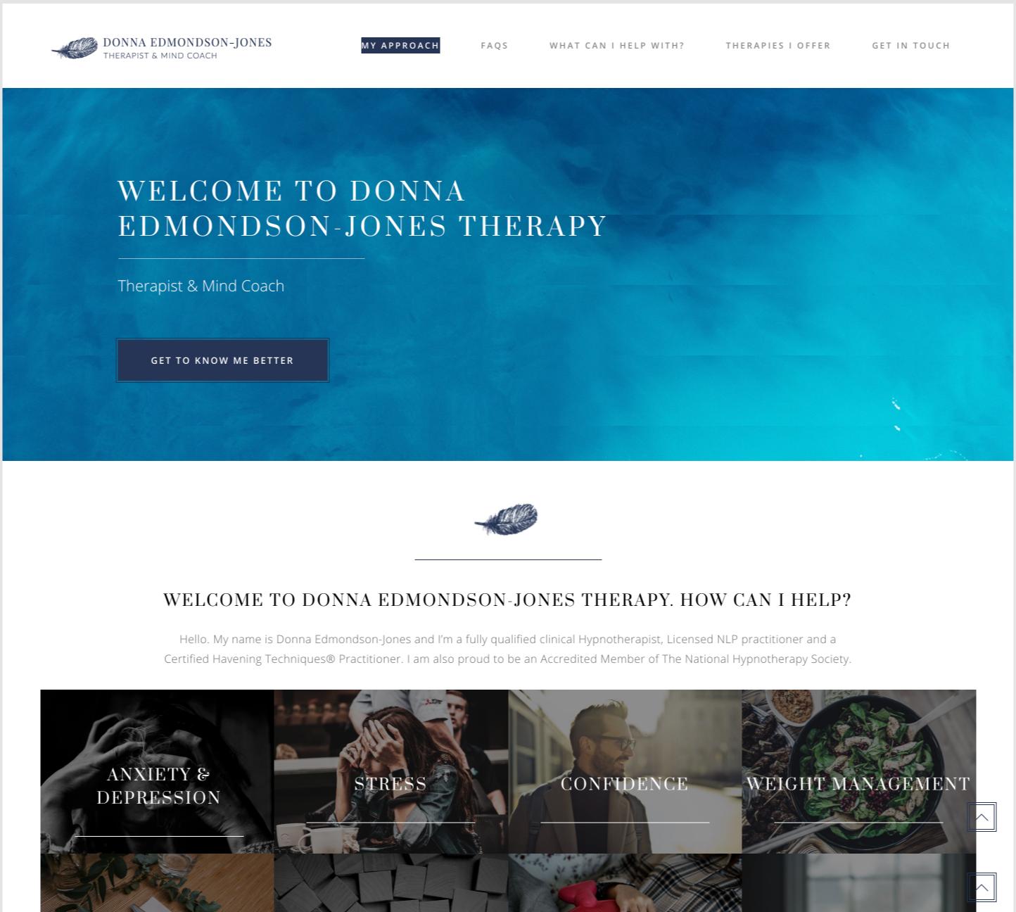 therapist old website.