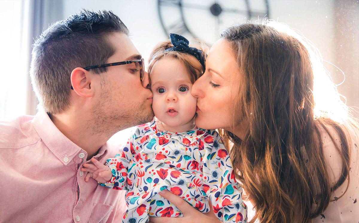 Photo famille avec enfant Avignon, Frederic Sicard Photographe