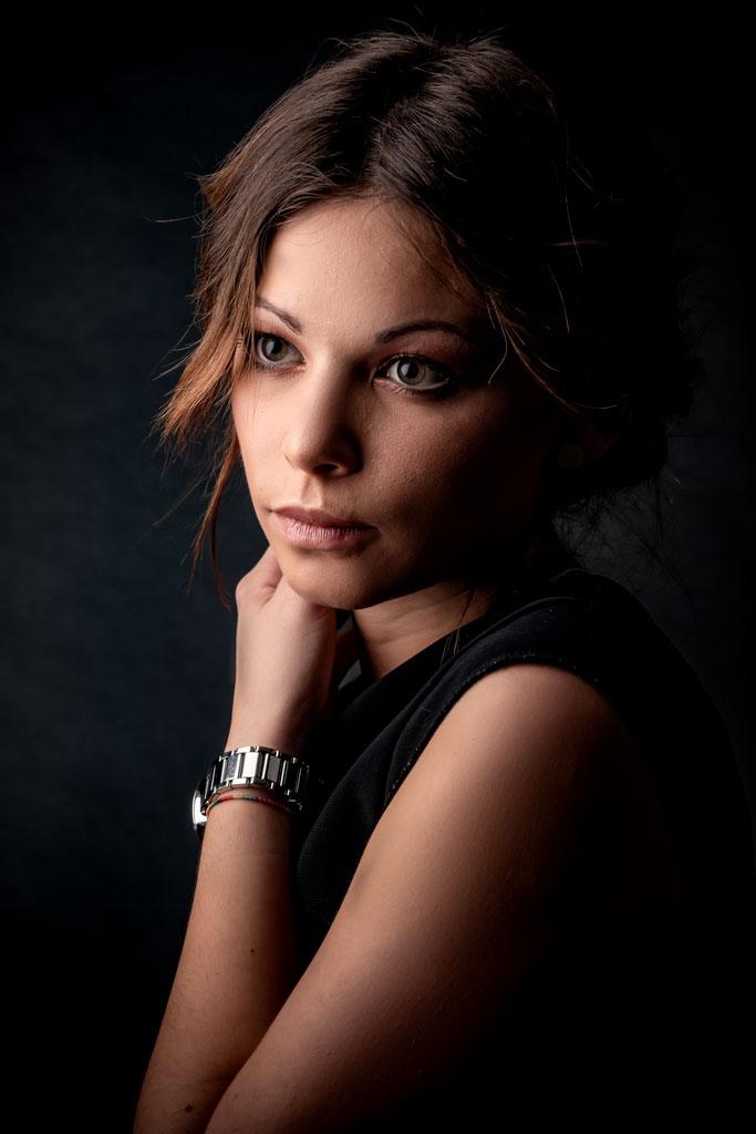 Jeune fille séance portrait photographe Avignon Vaucluse