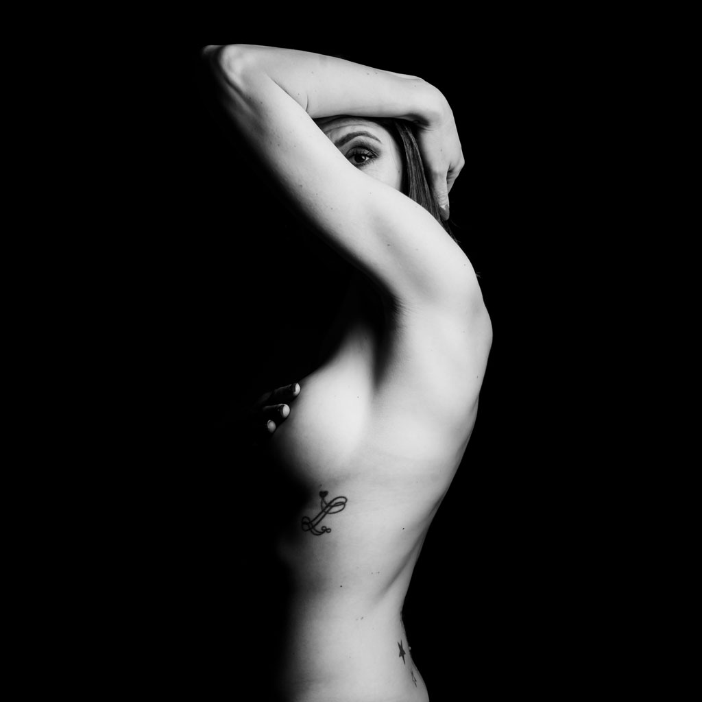 Photographe Vaucluse Avignon, photo Sexy noir et blanc
