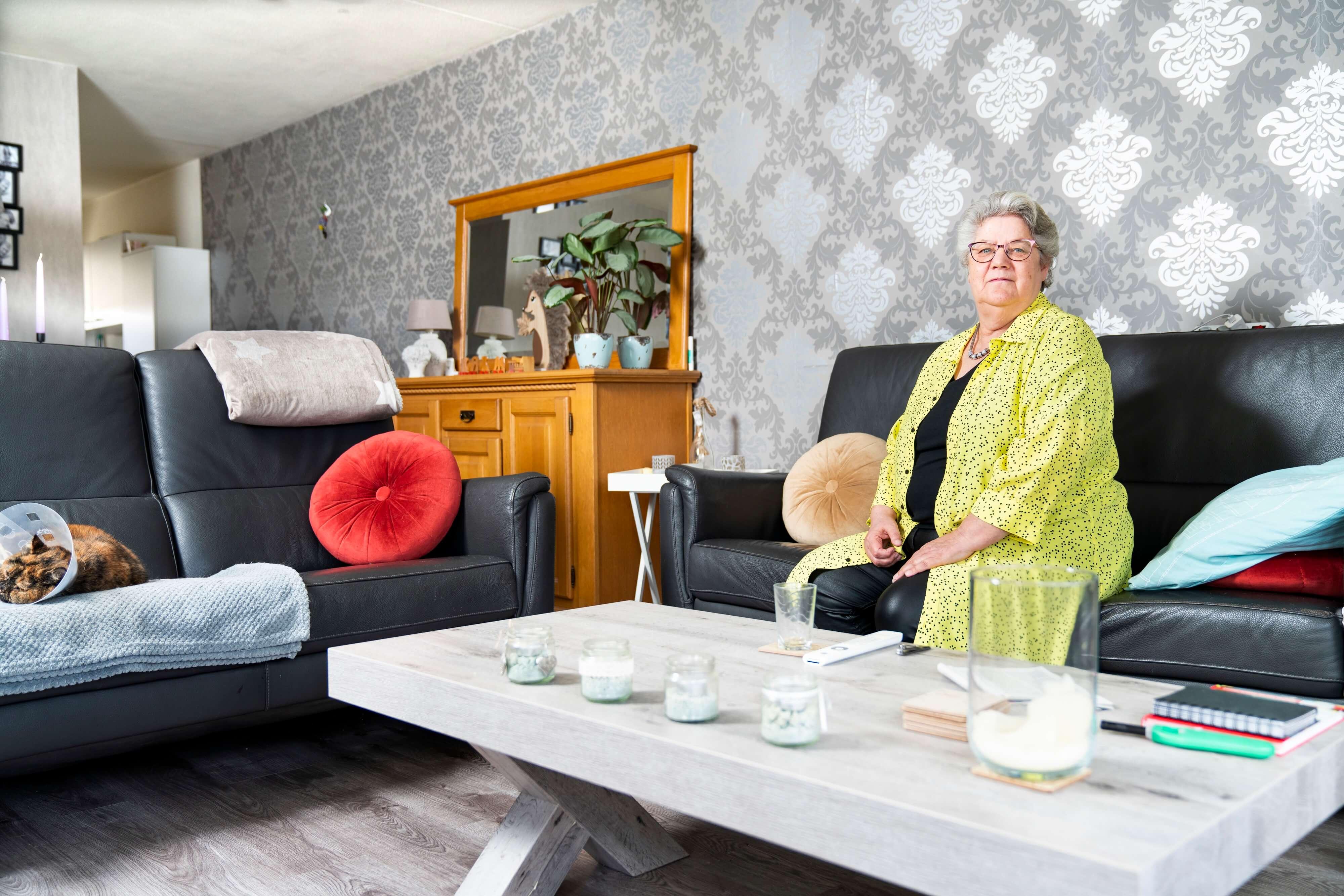 Foto van Marja Westra. Zij heeft dankzij de Voorzieningenwijzer geld bespaart.