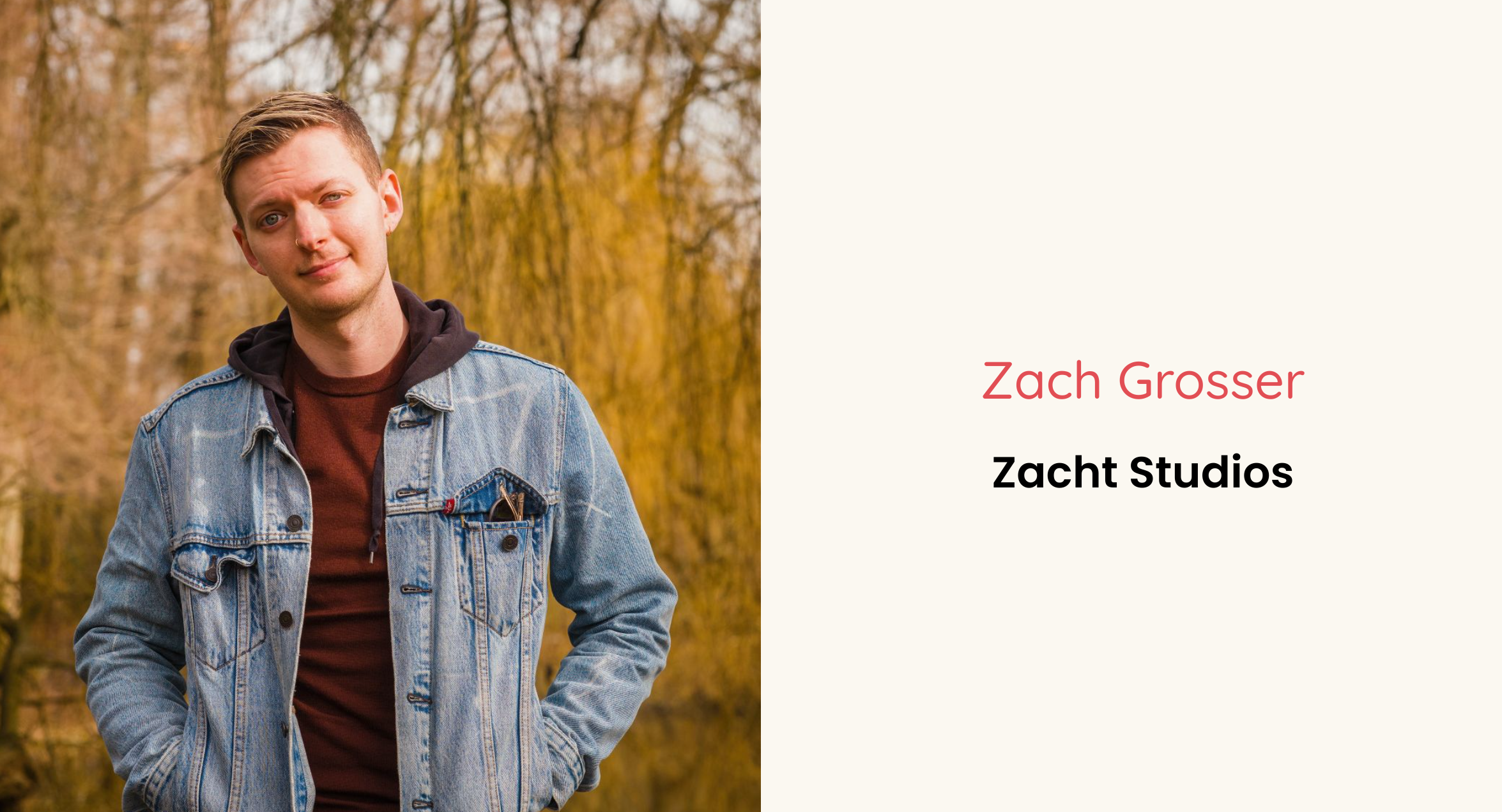 Zach Grosser's interview with Troopl for their Amsterdam Founder Series