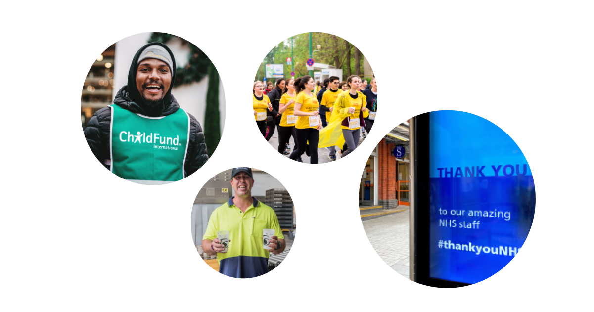 Brand materials for charities