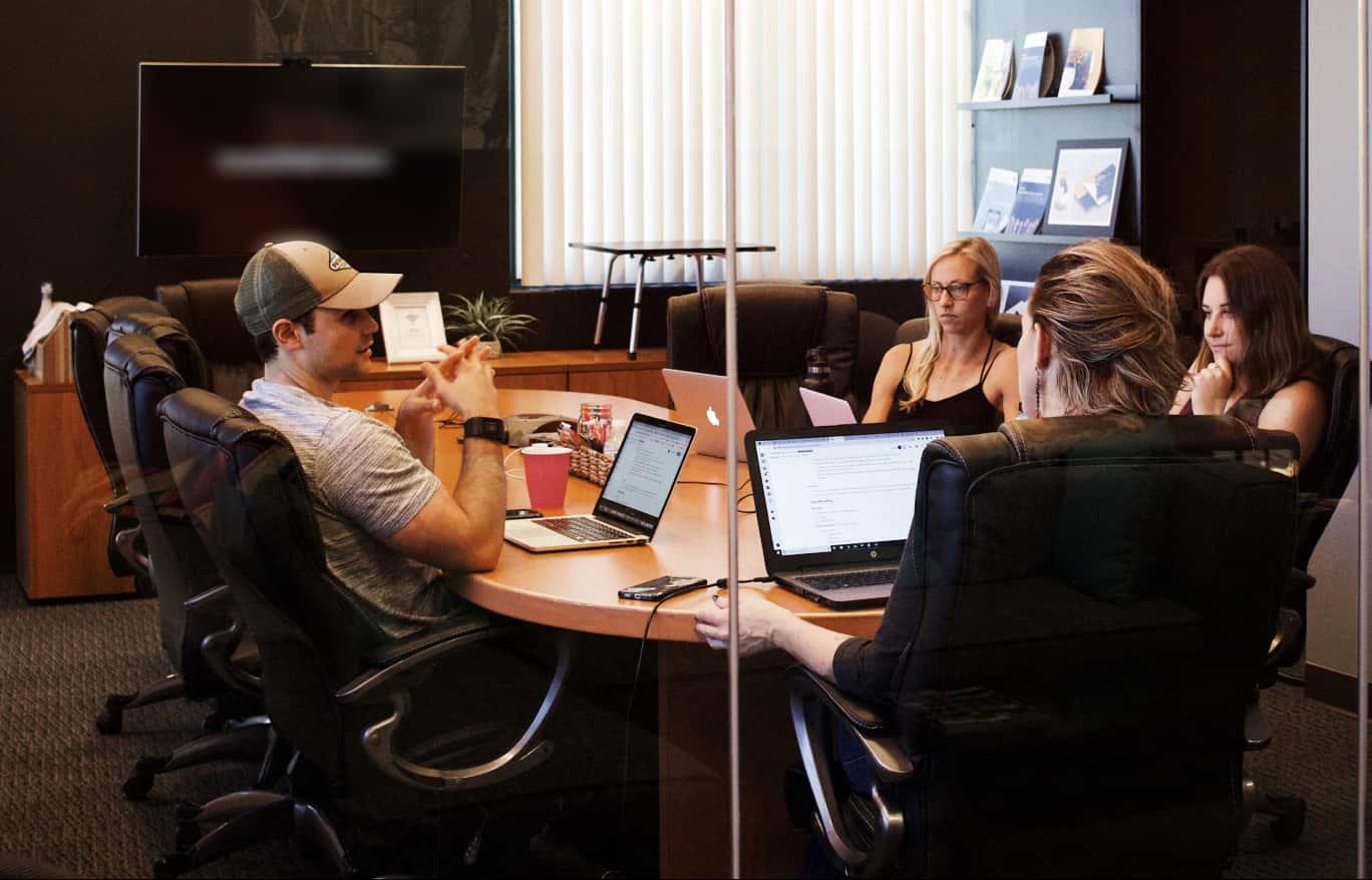 Ivanco Digital team at the table