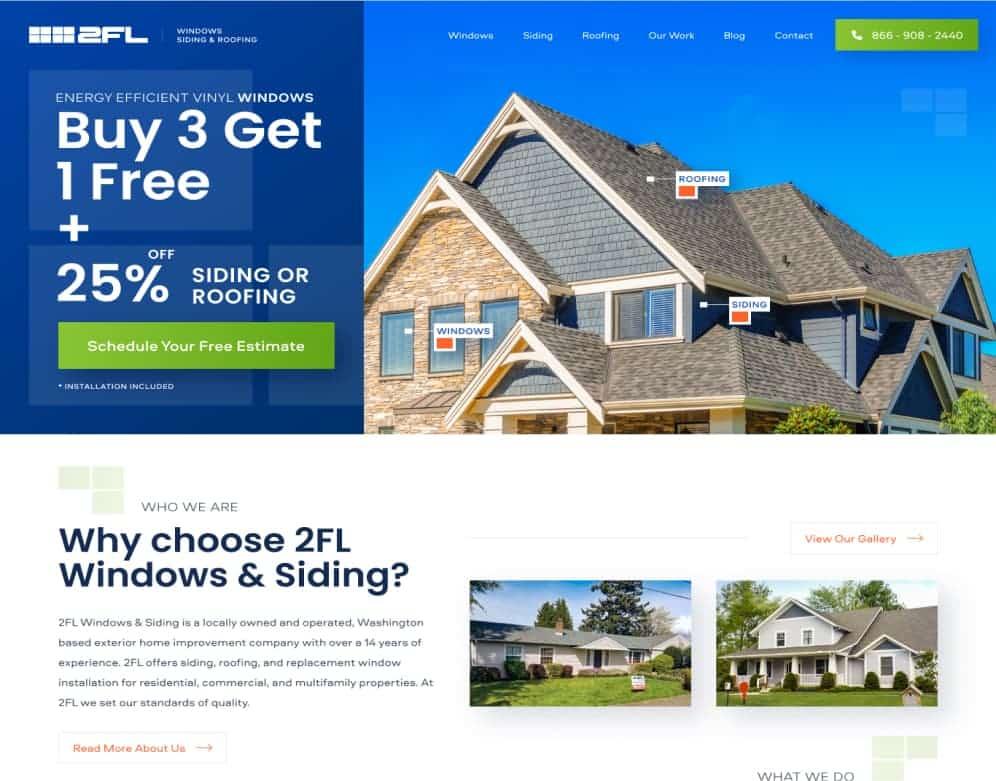 2FL Windows Siding & Roofing