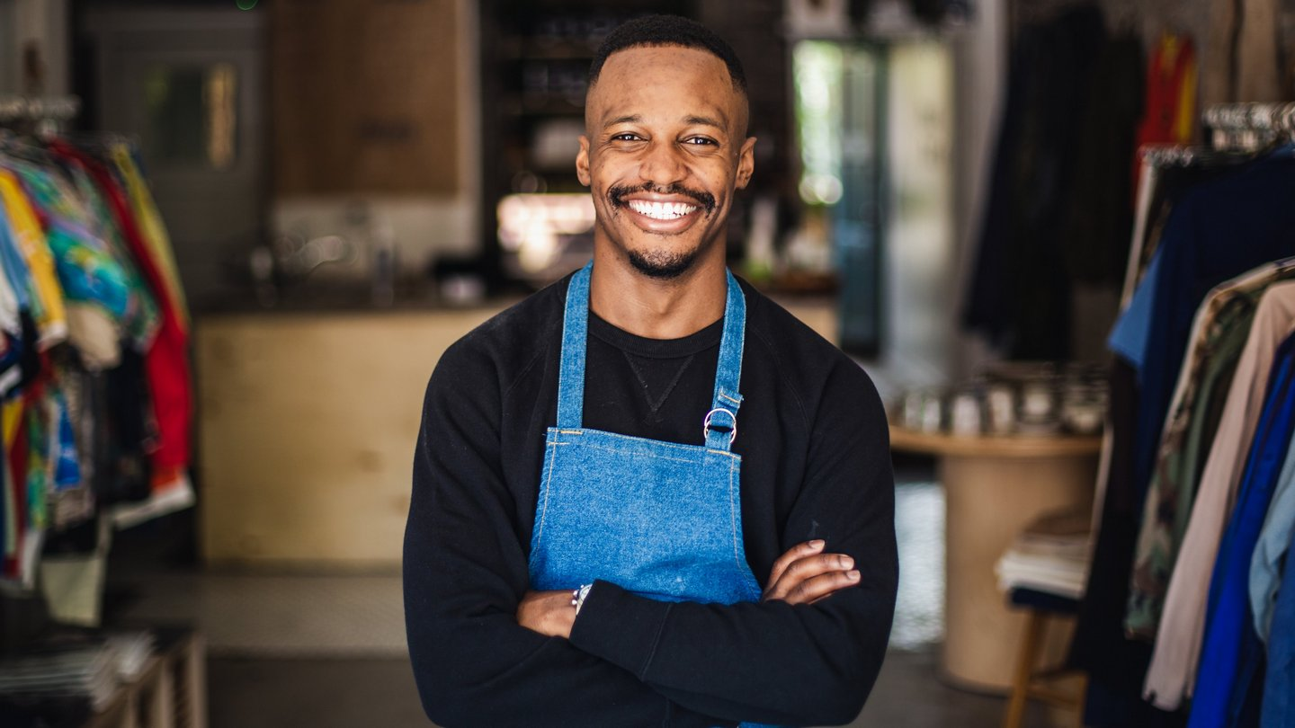 Photo of small business owner