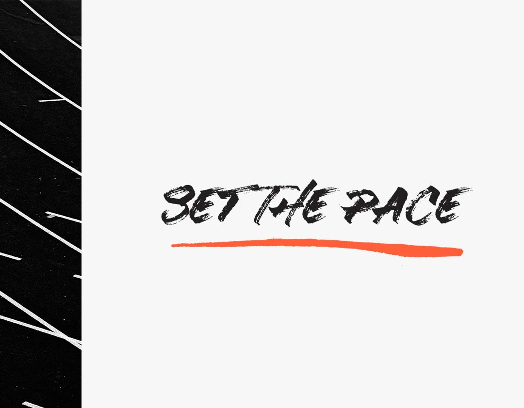 Set The Pace