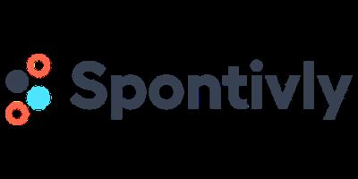 Spontivly logo.