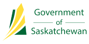 Government of Saskatchewan logo.