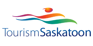 Tourism Saskatoon logo.