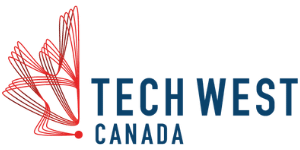 Tech West Canada logo.
