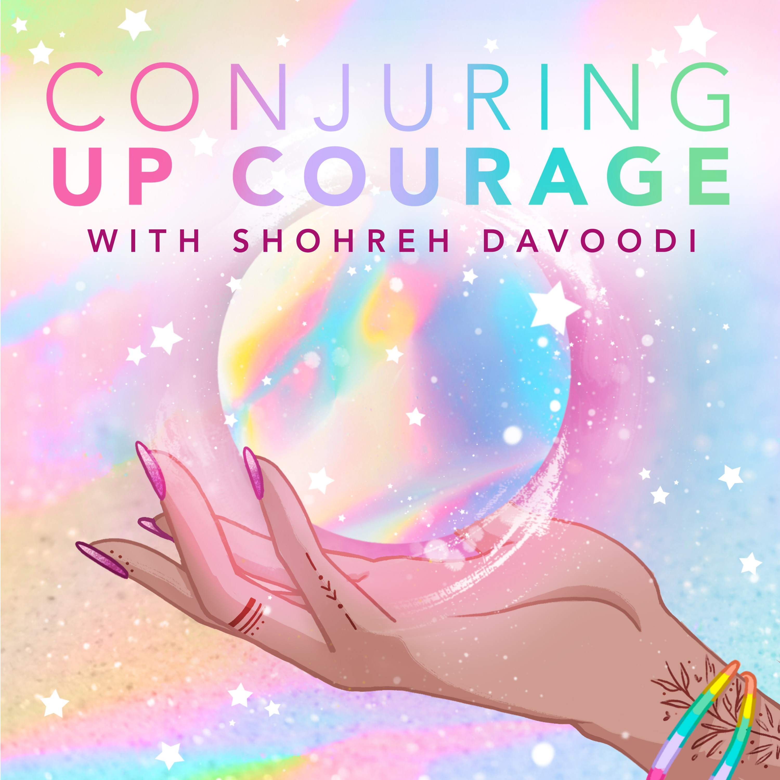 Banner linking to the Conjuring Up Courage podcast