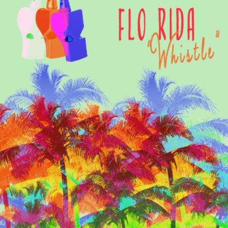 "5X Platinum ""Whistle"" From Flo Rida"