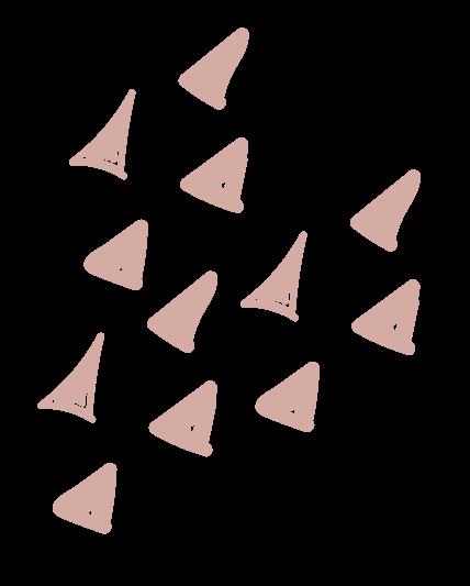 Trianglar i mönster