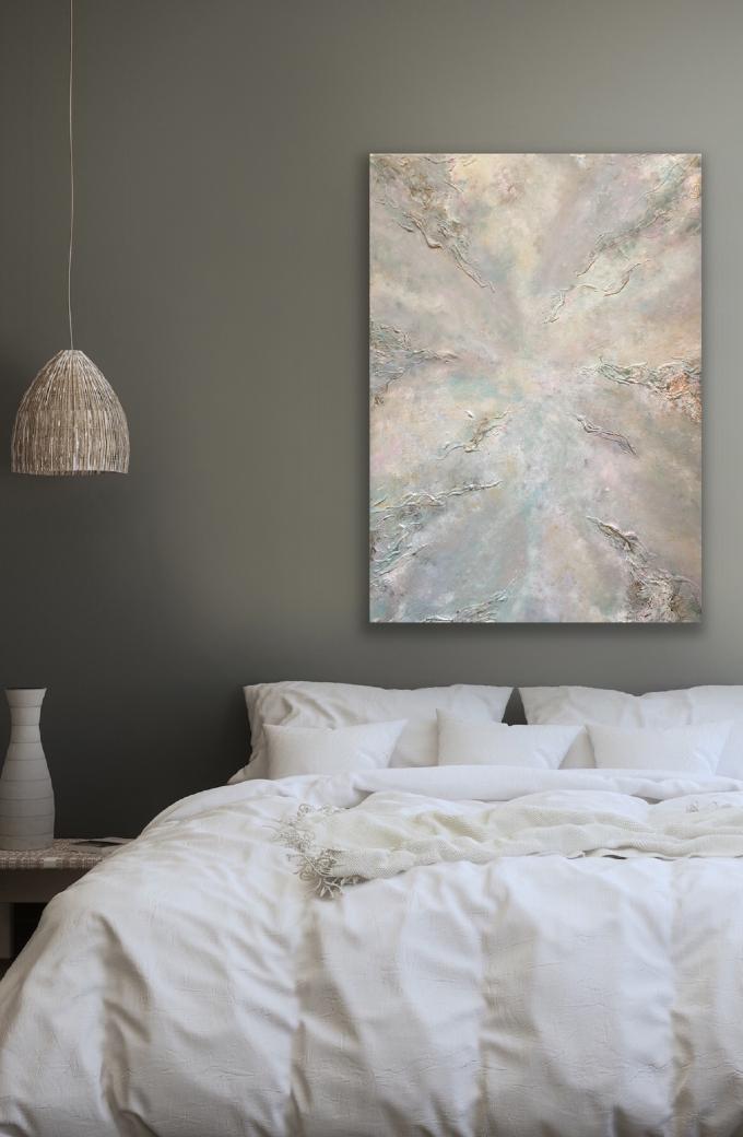 abstrakt målning