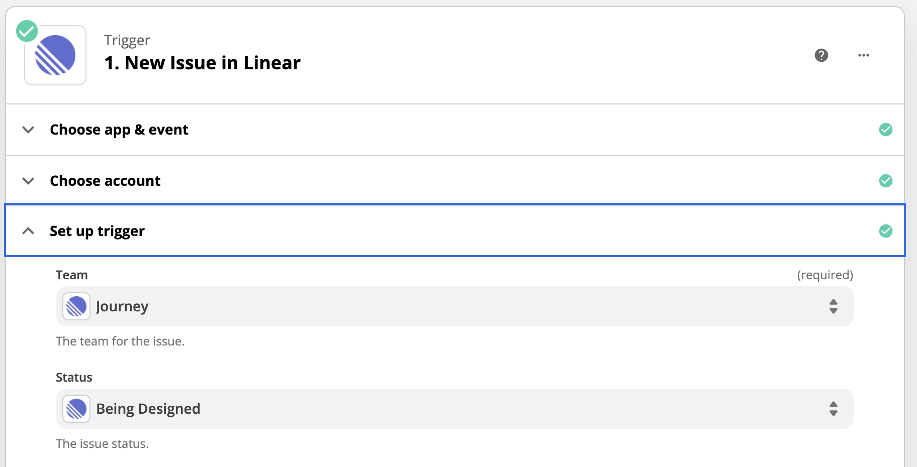Managing Design Tasks with Linear, Notion and Zapier