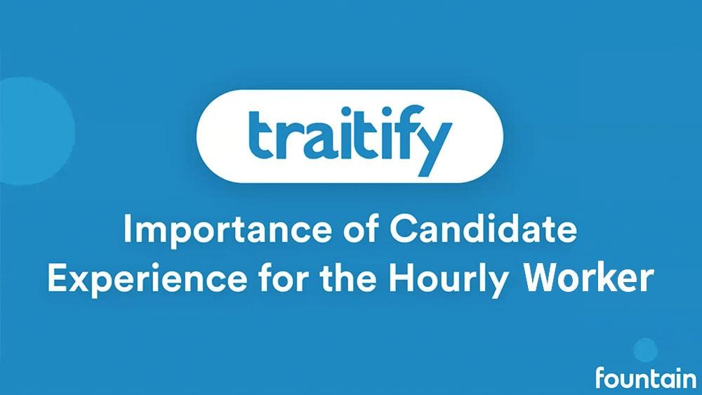 Fountain Webinar with Traitify