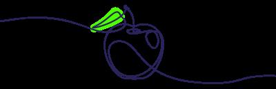 Pomme - Brut de pomme et transparence