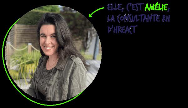 Amelie Kergoat, Consultante RH - Portrait