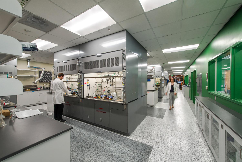 University of Utah Henry Eyring Chemistry Building Remodel