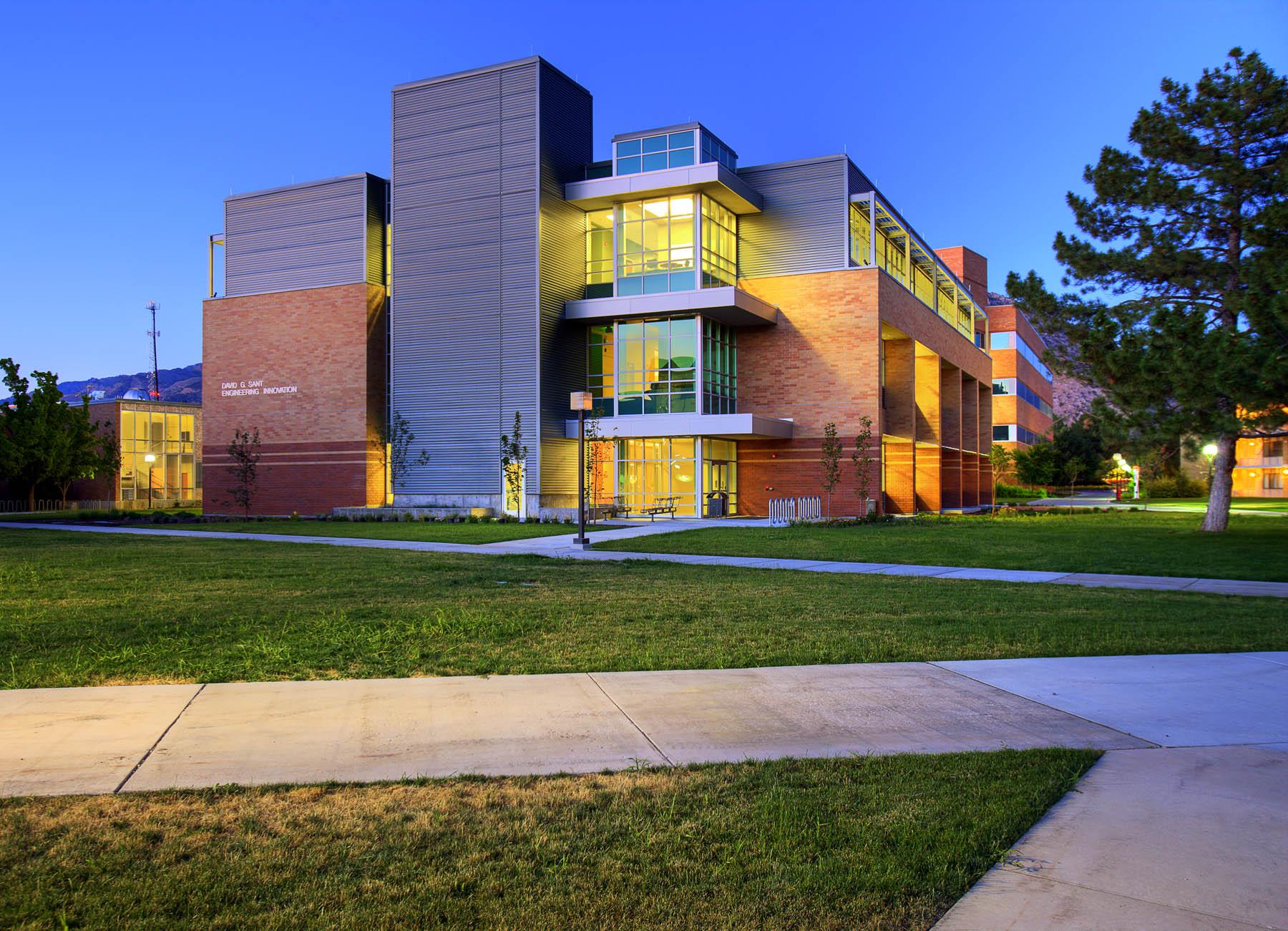 Utah State University David G. Sant Engineering and Innovation Building