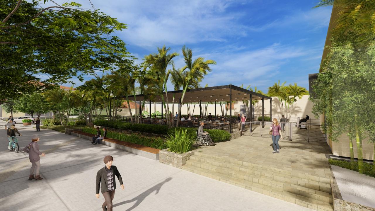Brigham Young University-Hawaii Plaza
