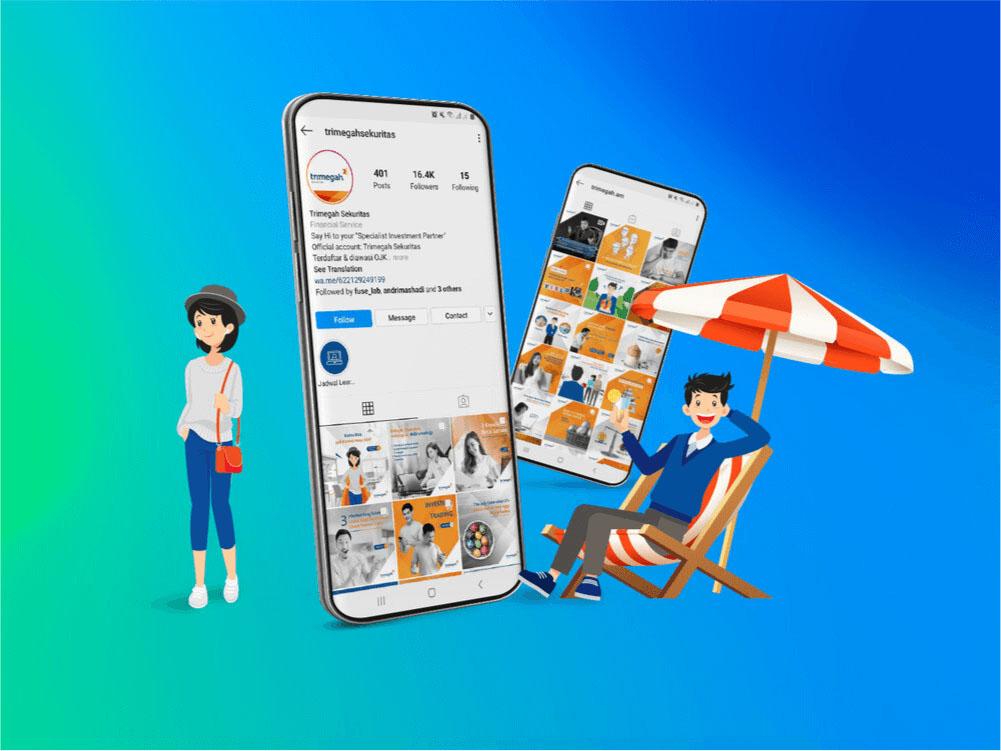 Trimegah Social Media