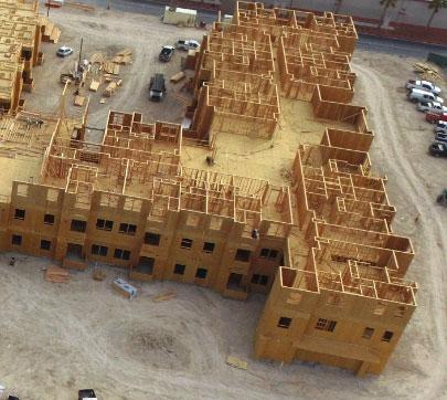 Progress of Madison palms senior living  project